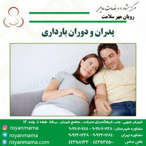 پدران و دوران بارداری