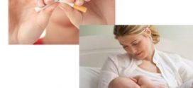 تاثیر سیگار بر شیر مادر