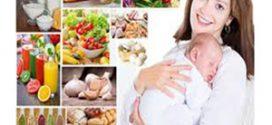 تاثیر رژیم غذایی بر شیر مادر